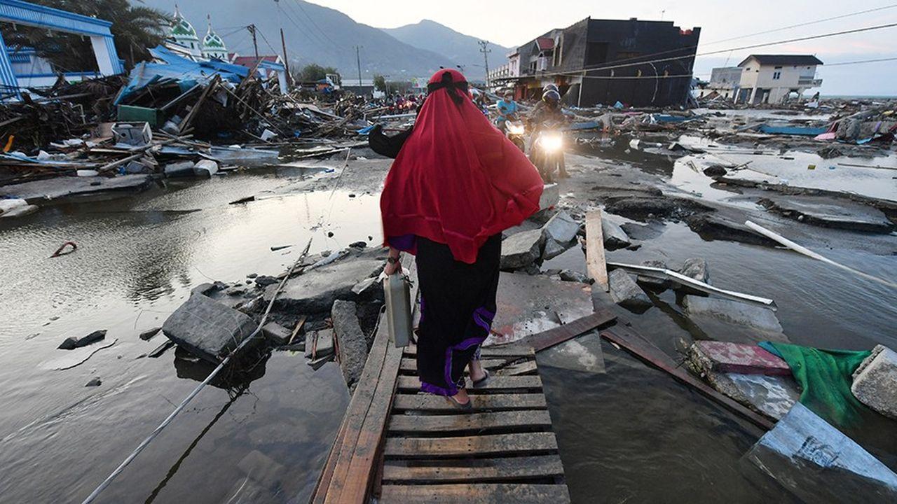 Le 18 septembre dernier, un séisme de magnitude 7,5 sur l'échelle de Richter a provoqué des ravages sur l'île de Sulawesi, en Indonésie.