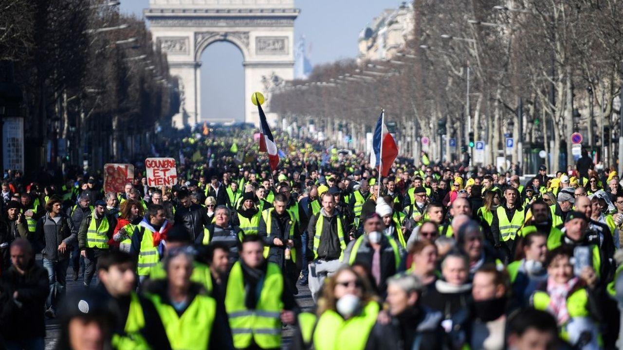 A Paris, la mobilisation s'est majoritairement déroulée dans le calme