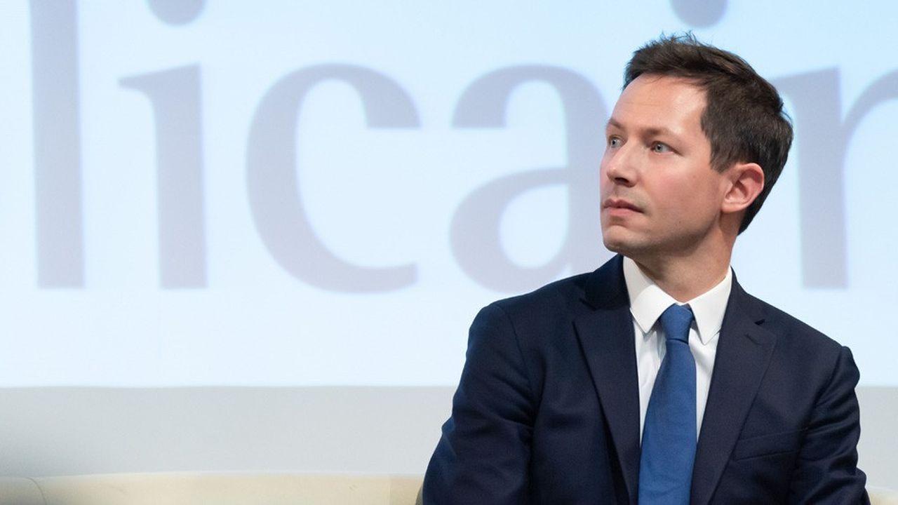 François-Xavier Bellamy est tête de liste du parti Les Républicains aux élections européennes.