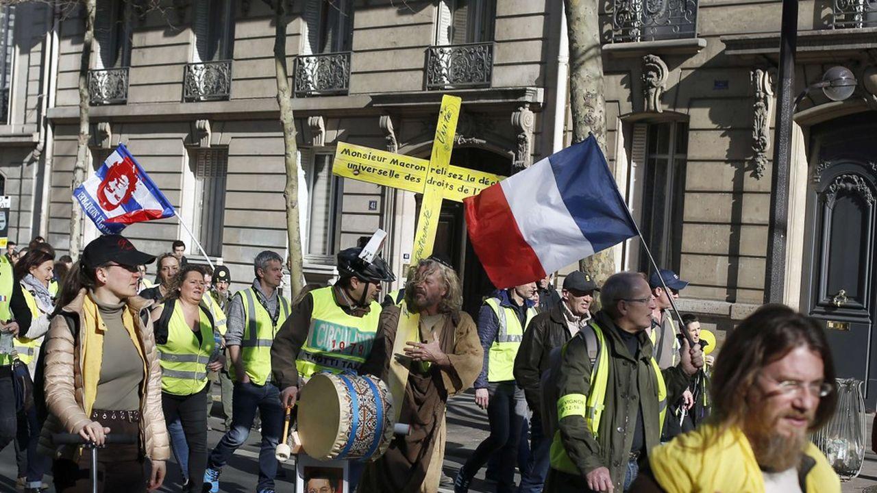 Les manifestations de ce dimanche, dans les rues de la capitale, se sont en grande partie déroulées dans le calme