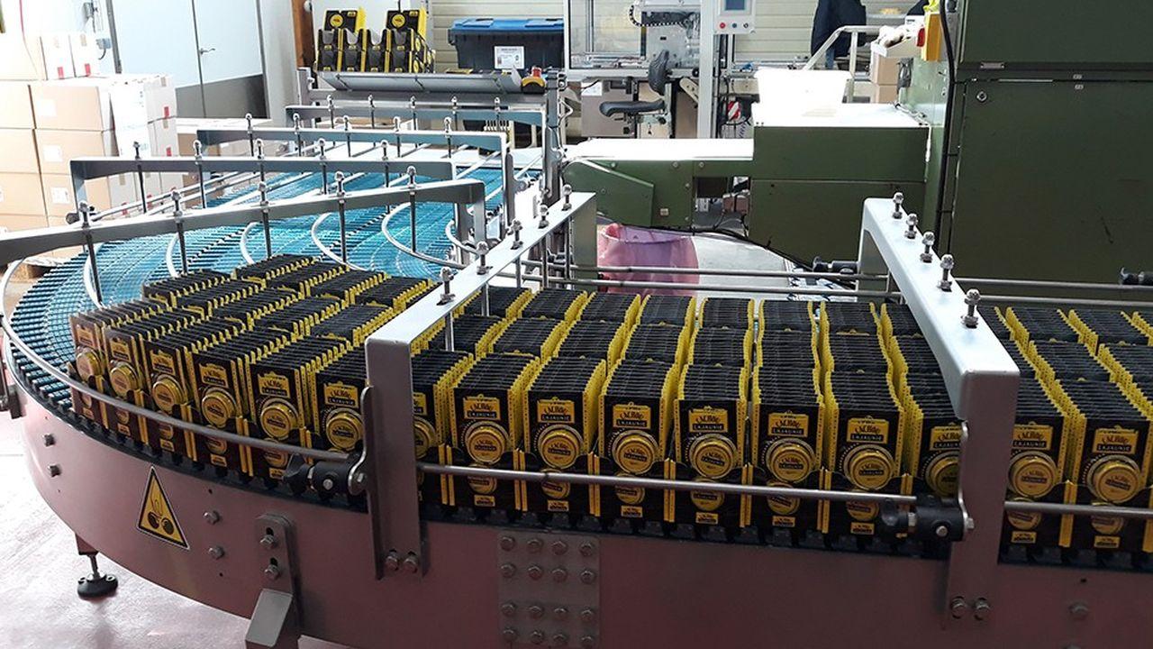 Trois millions de boîtes de Cachou Lajauniesont vendues chaque année.