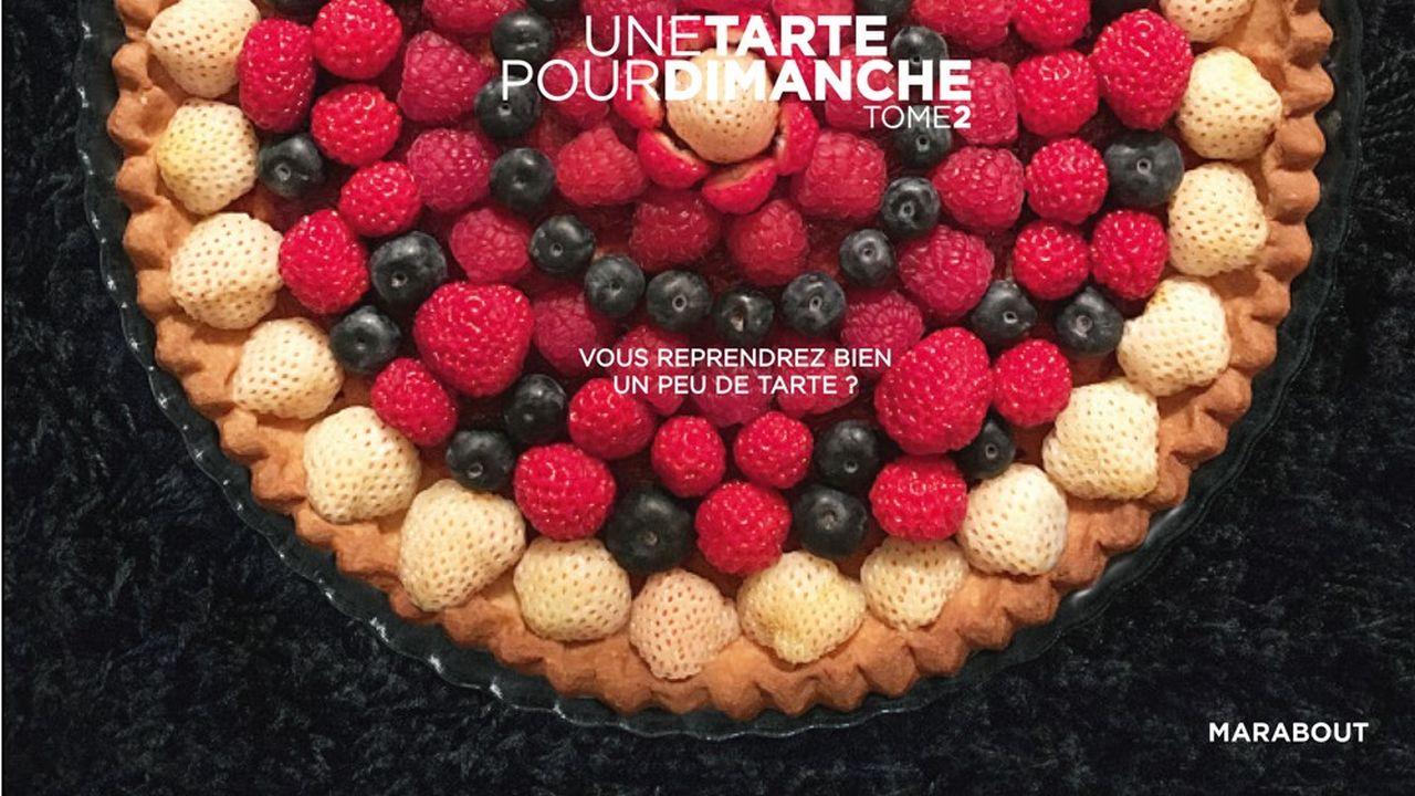 Couverture d' Une tarte pour dimanche Tome 2 de Caroline Lebar, aux éditions Marabout.
