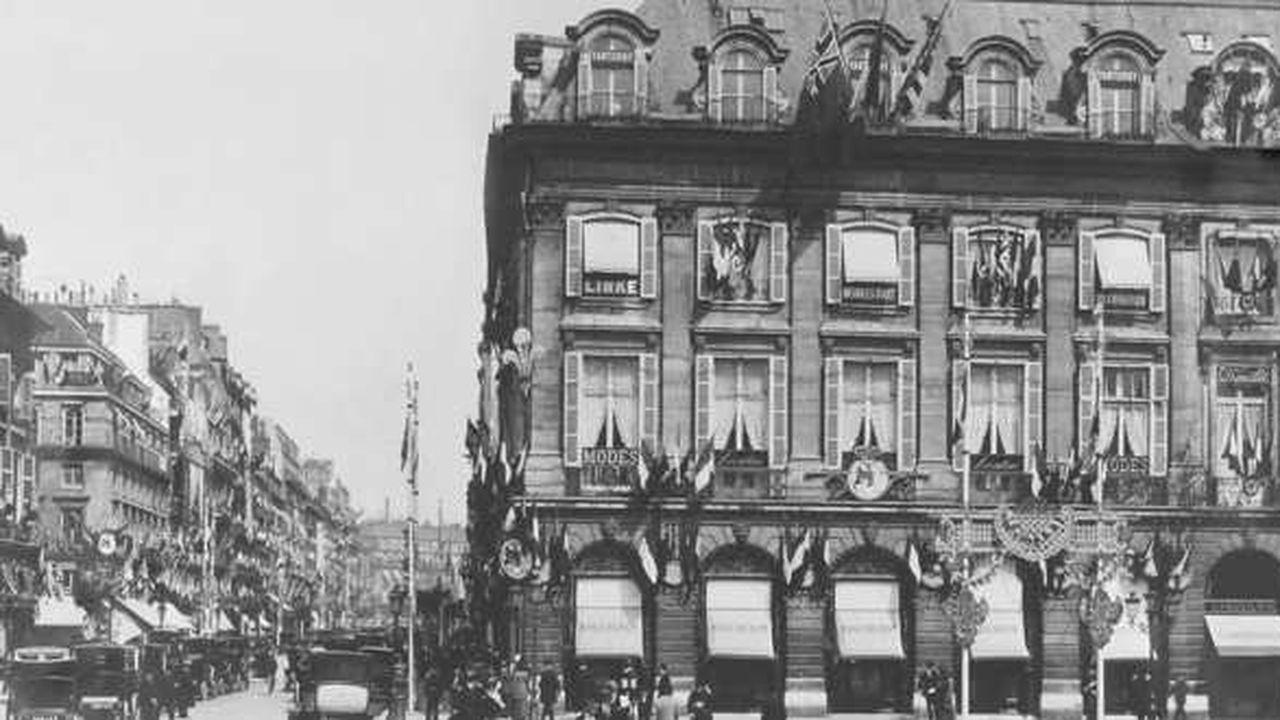 Archives Boucheron, façade de la boutique place Vendôme.