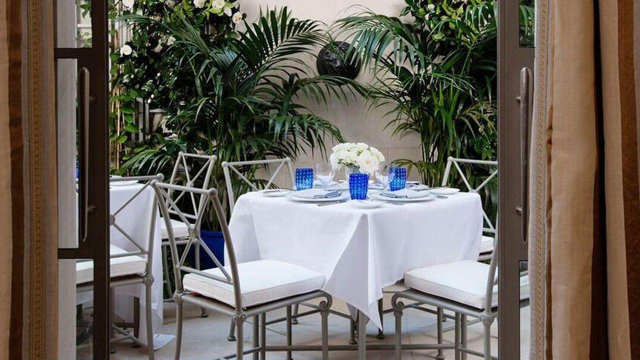 Restaurant du Majorelle.