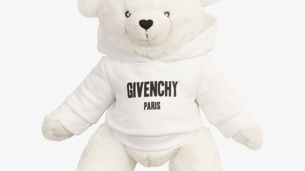 Ours en peluche doux, Givenchy Paris.