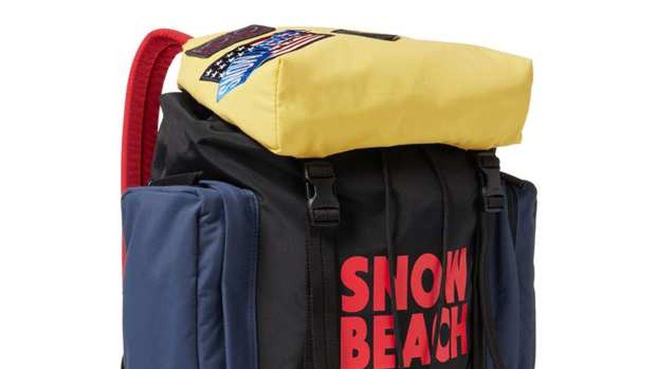 Sac à dos « collection Snow Beach » Ralph Lauren.