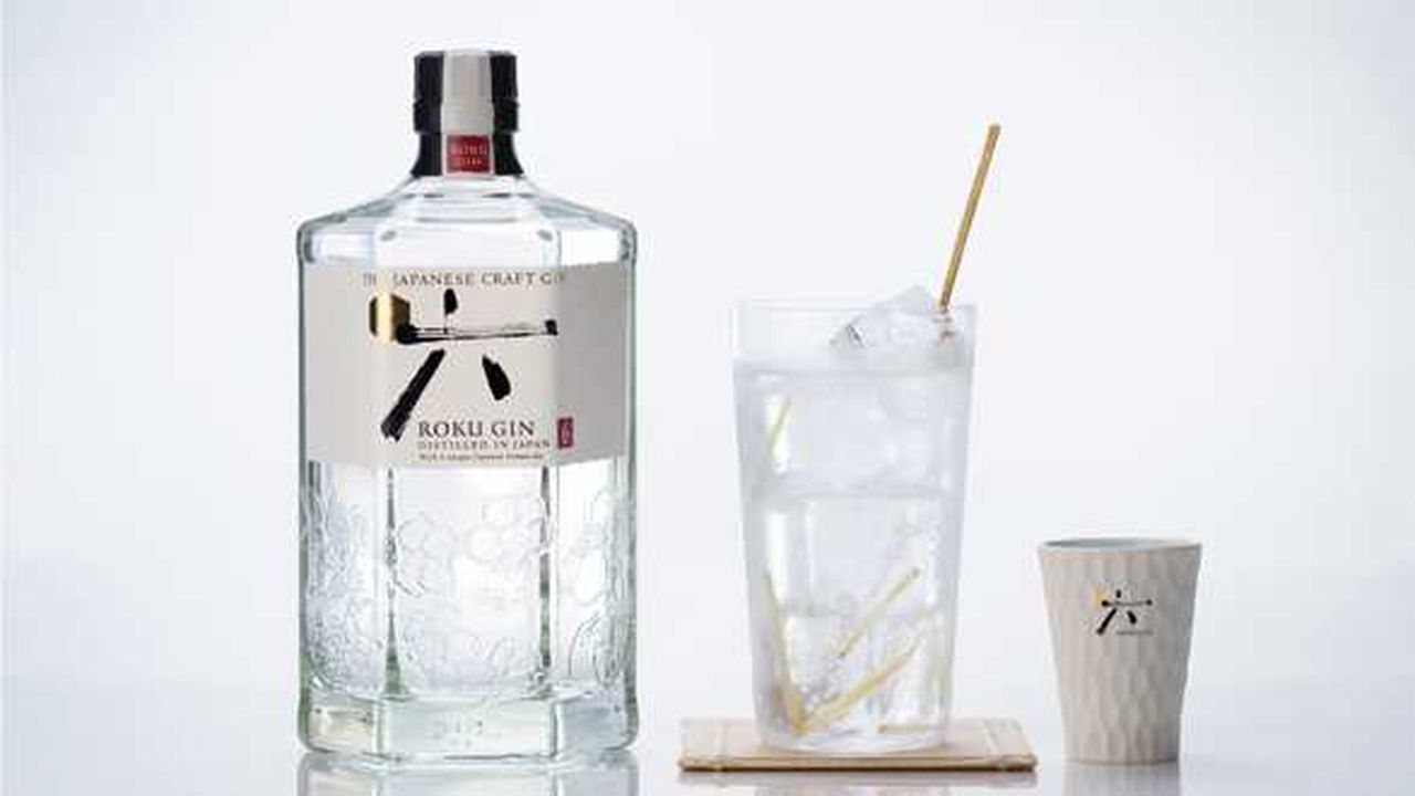 Roku, gin japonais.