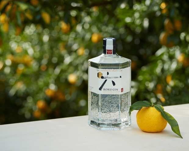 Roku , gin japonais.