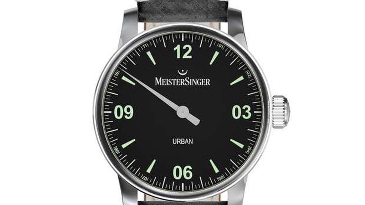 Montre de la collection Urban de MeisterSinger.