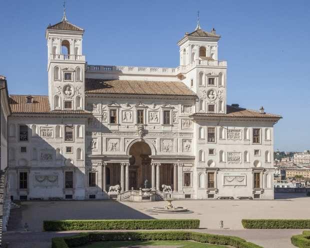 L'Académie de France à Rome.