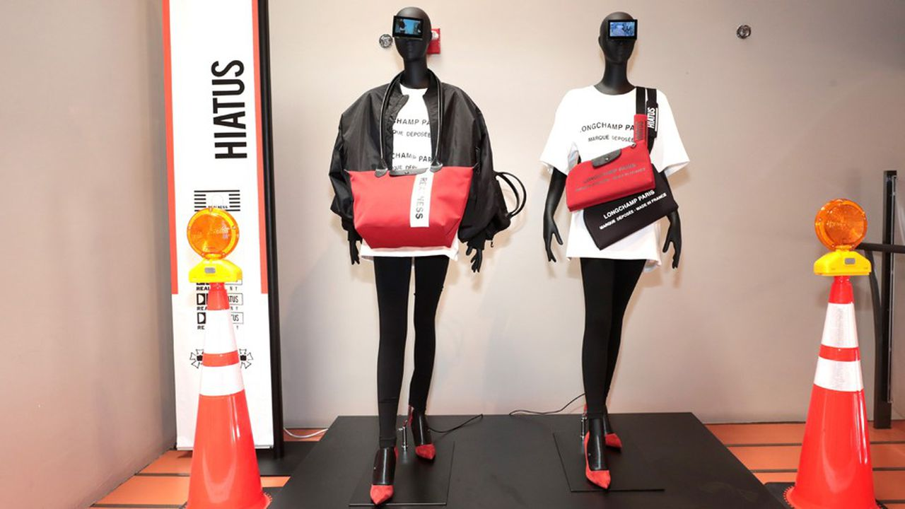 Collection « Longchamp by Shayne Oliver ».