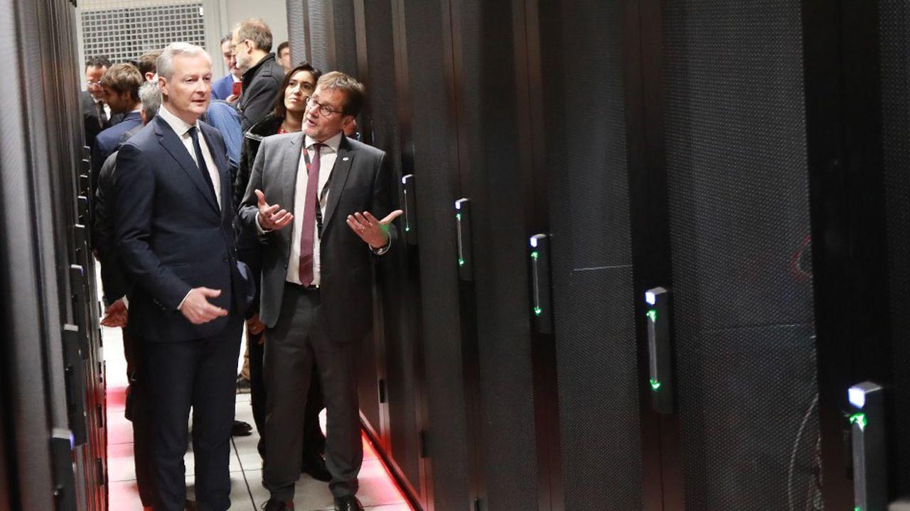 Bruno LeMaire, le ministre de l'Economie, profitait de son discours d'inauguration d'un nouveau centre de données de l'opérateur spécialisé Equinix, à Pantin, pour préciser ses craintes sur le Cloud Act américain.