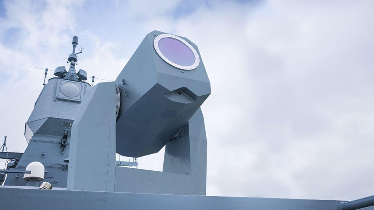 MBDA croit à une introduction rapide des armes laser dans la marine