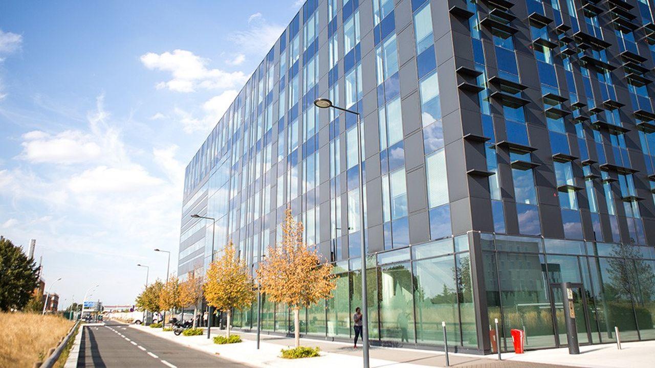 Le bâtiment choisi, propriété d'ADP, est situé dans l'écoquartier d'affaires international Coeur d'Orly