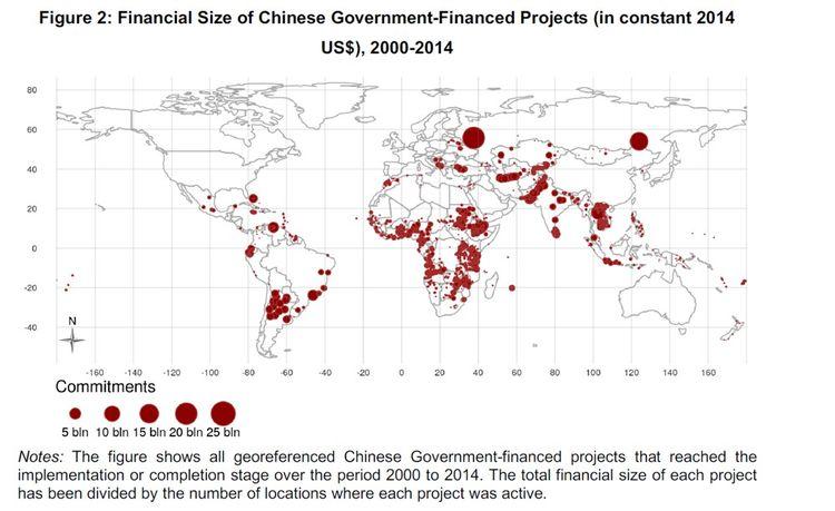 L'Afrique est au coeur des projets d'investissements chinois à l'étranger.