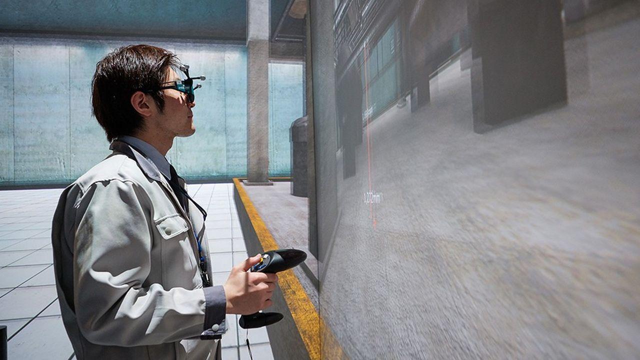 Une expérience de réalité virtuelle