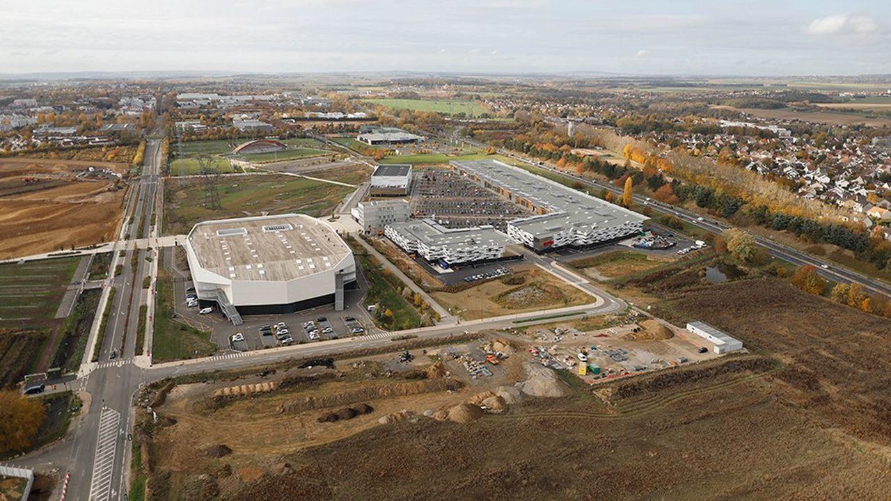 L'usine est spécialisée dans l'assemblage des fuselages pour les programmes civils et militaires.