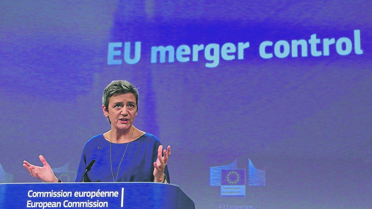 Margrethe Vestager, la Commissaire à la Concurrence, a acquis un statut de «star» à Bruxelles, grâce à sa poigne face à de nombreuses multinationales, notamment dans les nouvelles technologies.