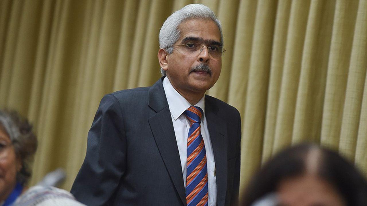 Le nouveau gouverneur de la banque centrale indienne, Shaktikanta Das, en poste depuis deux mois.