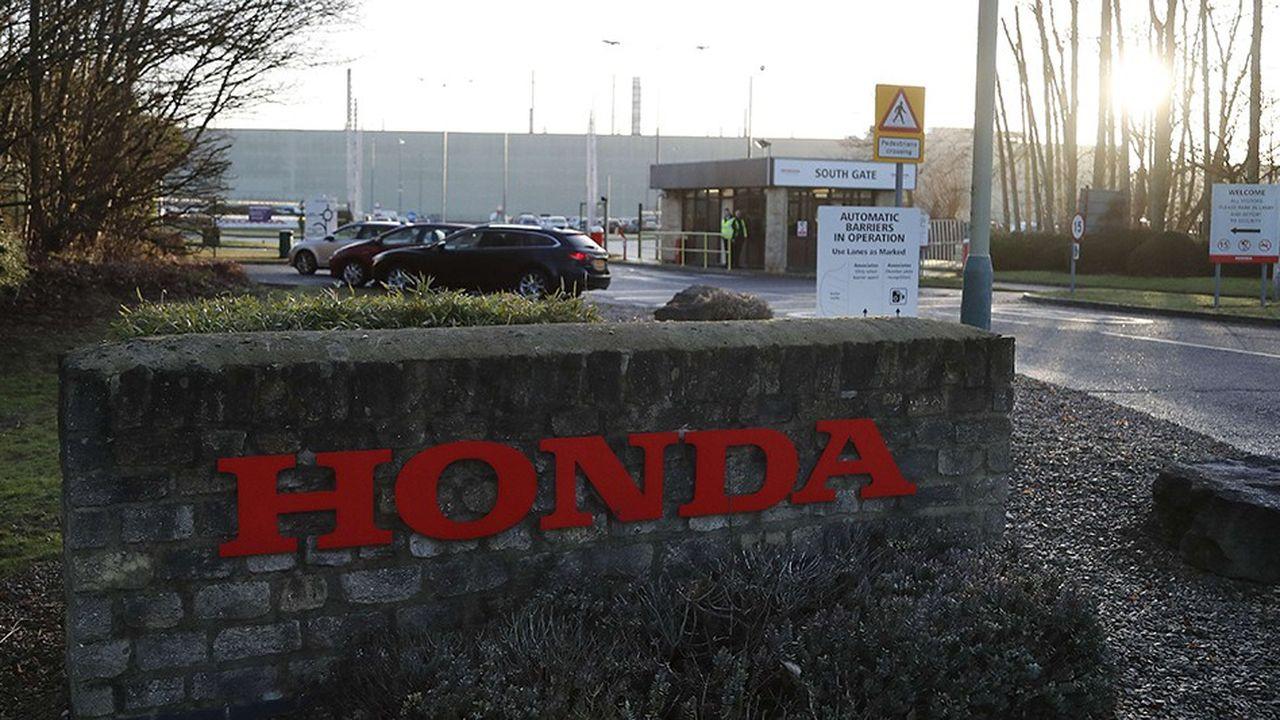 Honda a construit un peu plus de 160.000 véhicules l'année dernière à Swindon (Angleterre), sa seule usine britannique, où sont assemblées la Civic et la CV-R.