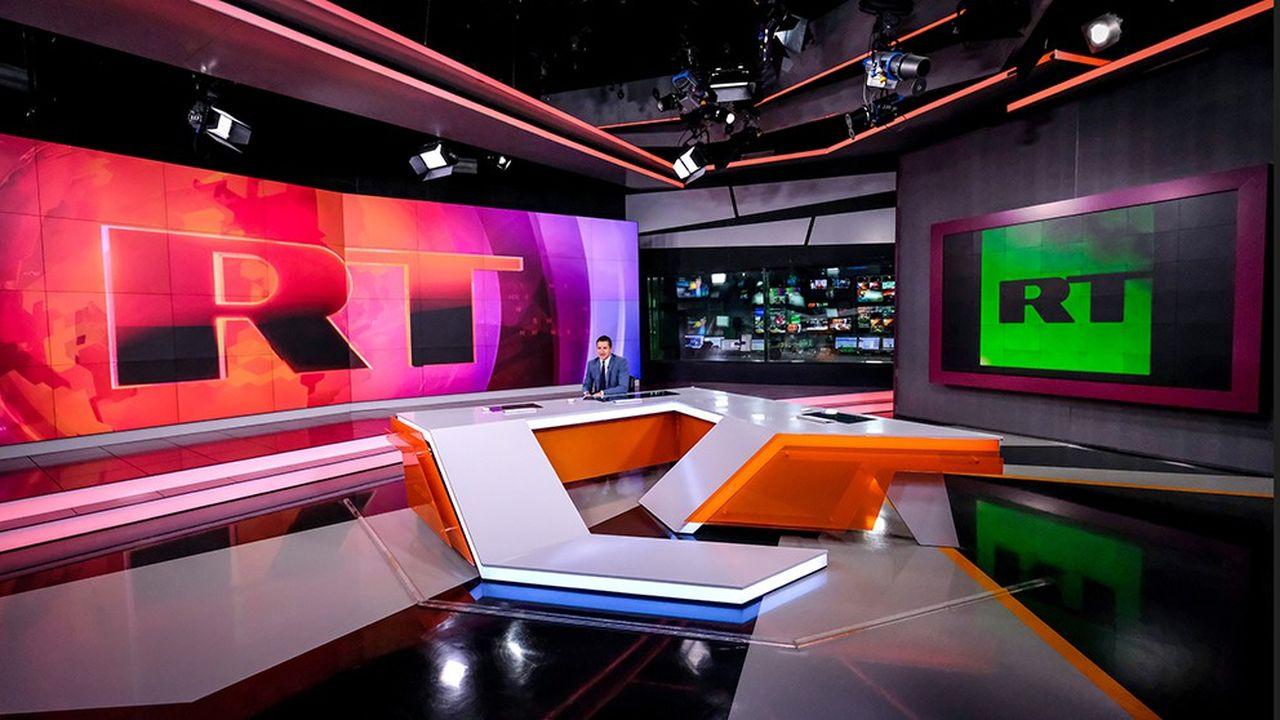 La chaîne de télévision RT est financée par le Kremlin