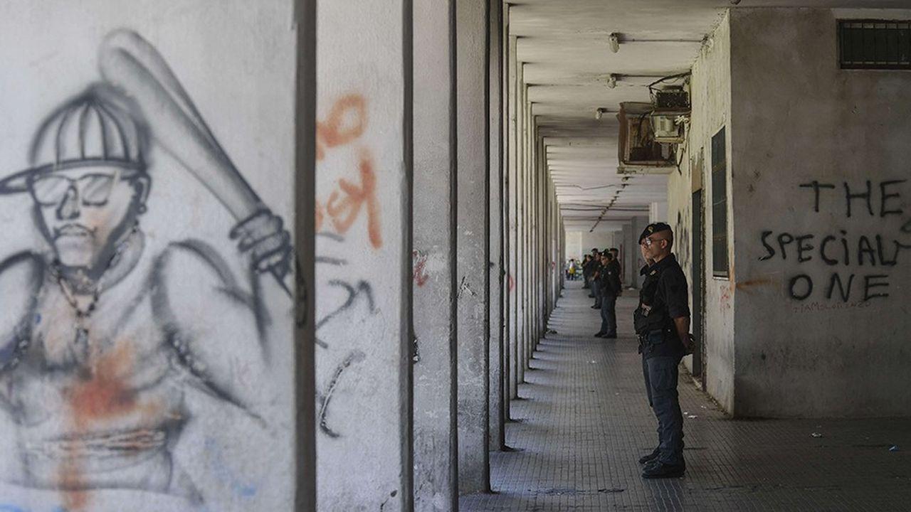 Les prix de l'héroïne ont baissé de moitié récemment, ce qui explique en partie le retour en force de cette drogue sur le marché, comme ici à Naples