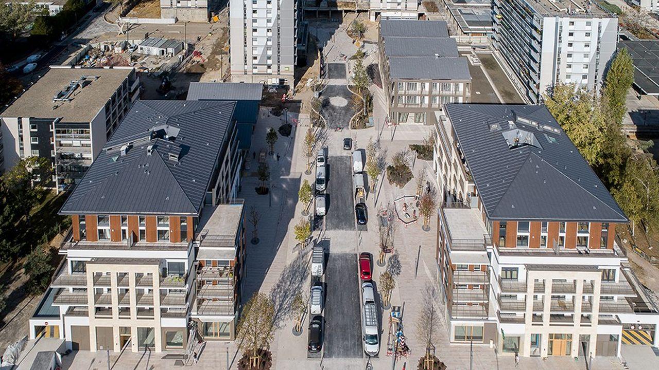 L'opération d'aménagement prévoit la construction totale de 150 nouveaux logements, 2.500 mètres carrés de commerces, une crèche de 60 berceaux et un nouveau cabinet médical.