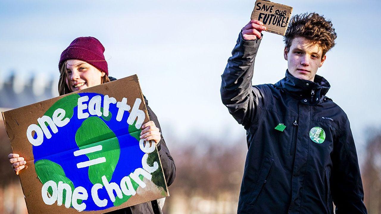 Depuis plusieurs semaines, les étudiants manifestent à travers l'Europe pour la lutte contre le réchauffement climatique