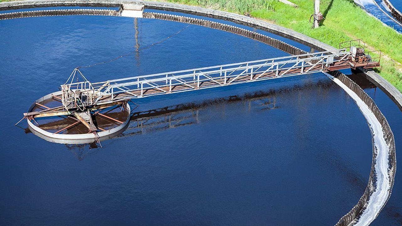 usine de traitement d'eau usée