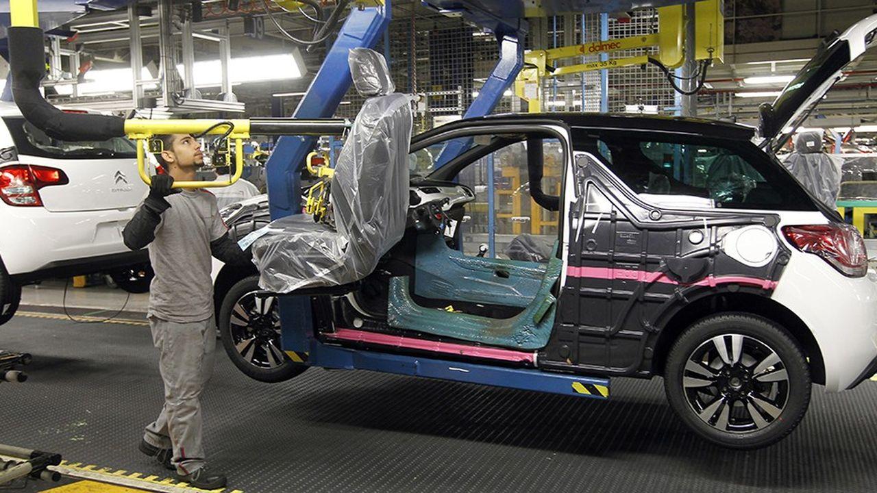 L'usine de Poissy fabrique aujourd'hui 175.000 véhicules par an, dont la Peugoet 208, la DS3 et la tout nouvelle DS3 Crossback.