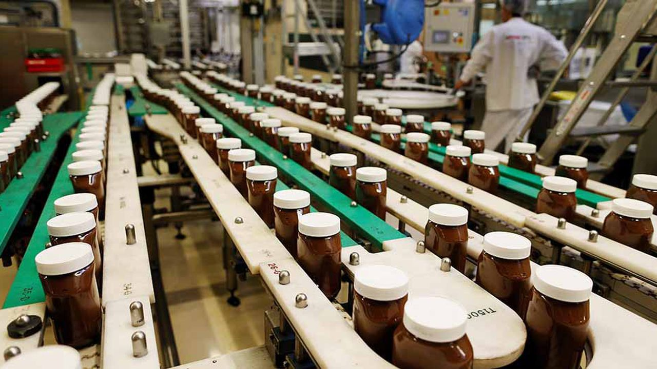 L'usine de Villers-Ecalles produit à elle seule un quart de la production mondiale de Nutella