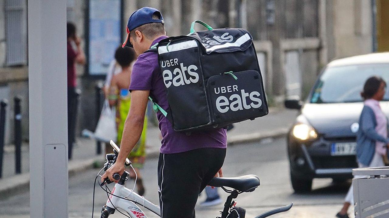 Uber Eats est confronté à une concurrence féroce