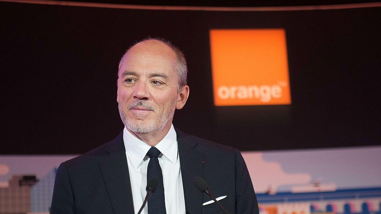 Le PDG d'Orange, Stéphane Richard, a été reconduit en 2018 pour un troisième mandat de quatre ans.