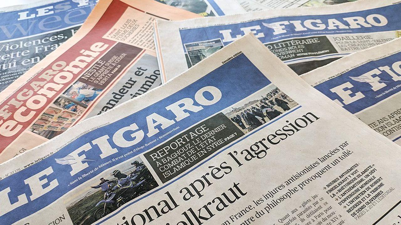Les résultats du «Fig» sont tirés par ceux du «Figaro Madame» et du «Figaro Magazine».