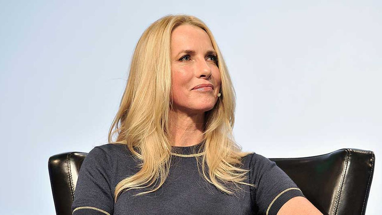 SAN FRANCISCO, CA - SEPTEMBER 20: Emerson Collective Founder and President Laurene Powell Jobs speaks onstage during TechCrunch Disrupt SF 2017 at Pier 48 on September 20, 2017 in San Francisco, California. Steve Jennings/Getty Images for TechCrunch/AFP