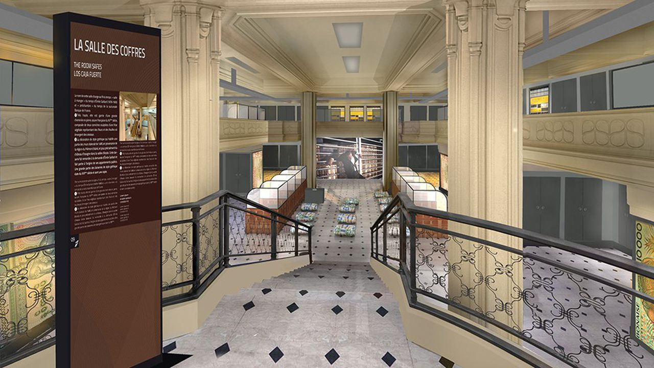 Le défi a été de transformer un monument historique en un musée très contemporain.