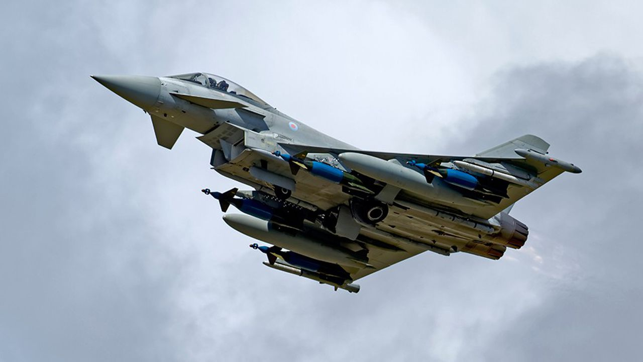 BAE Systems chercheactuellement à vendre 48 exemplaires d'Eurofighter à Riyad. Une vente cruciale pour l'équipementier britannique