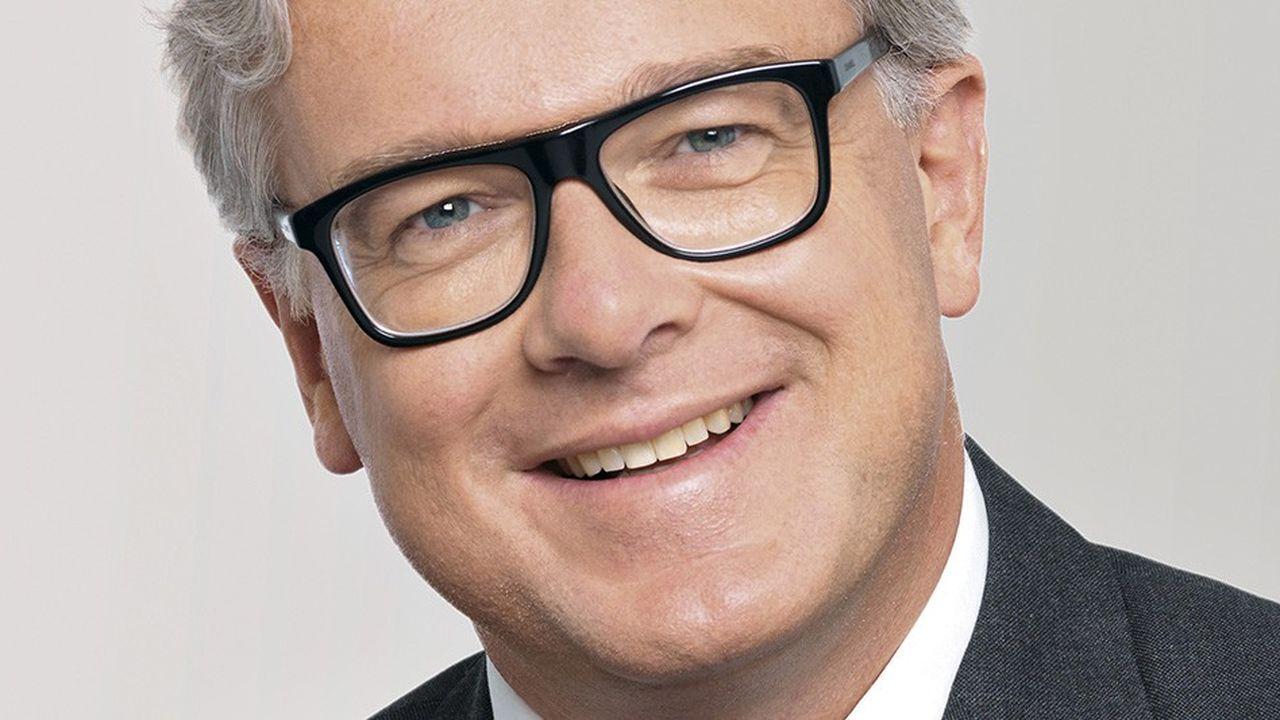 Bertrand Dumazy, PDG d'Edenred