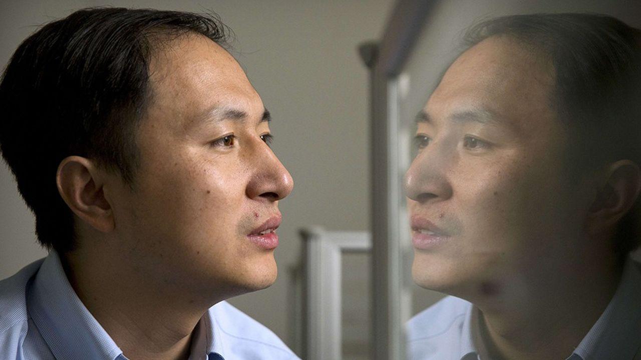 He Jiankui, chercheur chinois, père des bébés «OGM»