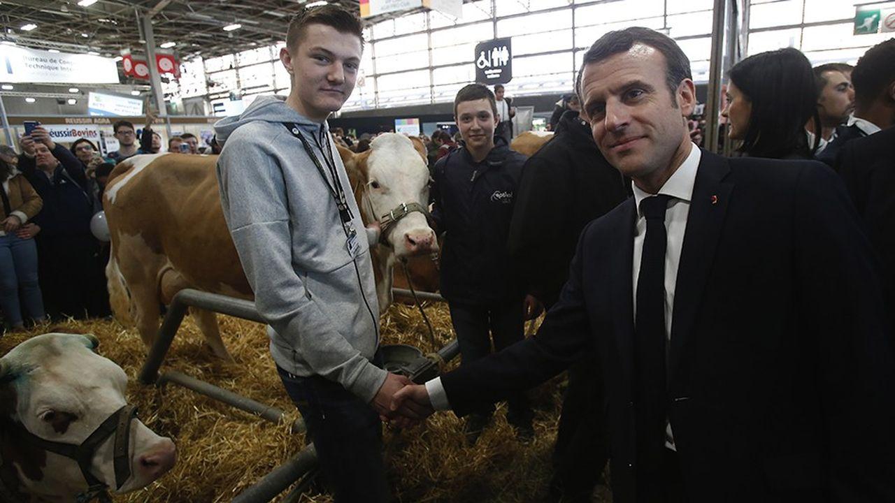 Emmanuel Macron a profité de sa visite au salon de l'agriculture, samedi dernier à Paris, pour lancer un vigoureux plaidoyer en faveur de l'Europe.