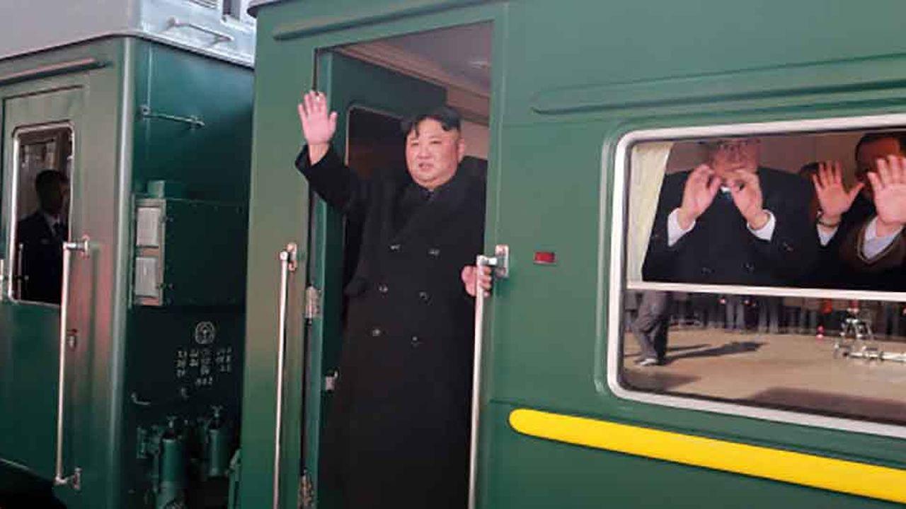Il aura fallu un peu plus de deux jours au train blindé de Kim Jong-un pour traverser les 4.000km qui séparent Pyongyang de la ville frontalière de Dong Dang, au Vietnam