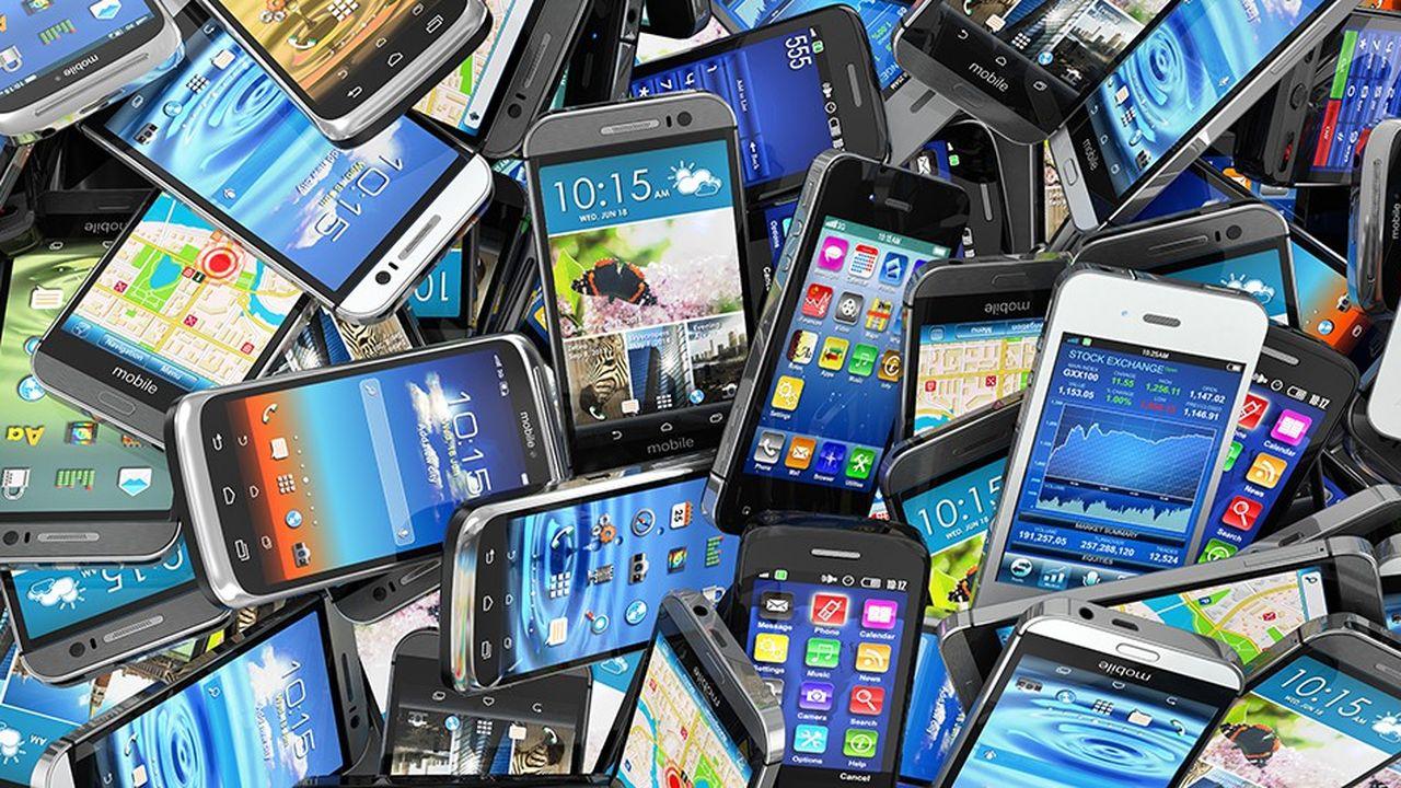 20 à 30millions de téléphones non utilisés sont stockés par les Français.