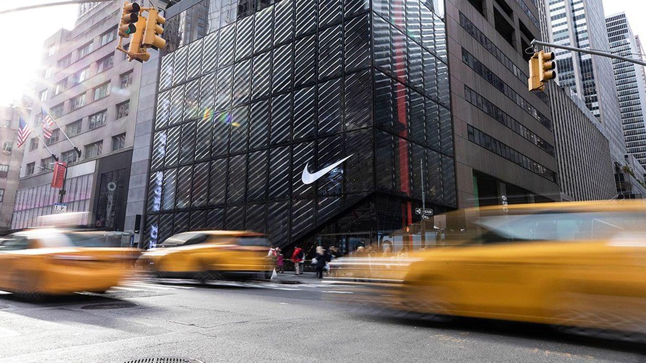 Le Nike Innovation de la cinquième avenue à New York s'étend sur 6 niveaux et 6.000 mètres carrés.