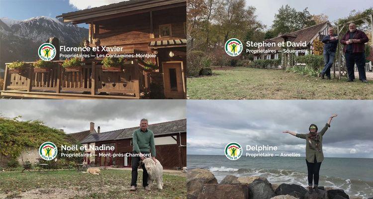 Pour porter la nouvelle image de Gîtes de France, 1.000 spots ont déjà été réalisés autour des propriétaires. Une centaine fera l'objet d'une campagne télévisée.