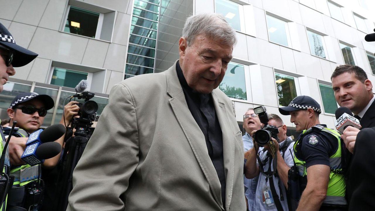 George Pell est le plus haut responsable catholique à être jugé coupable de pédophilie