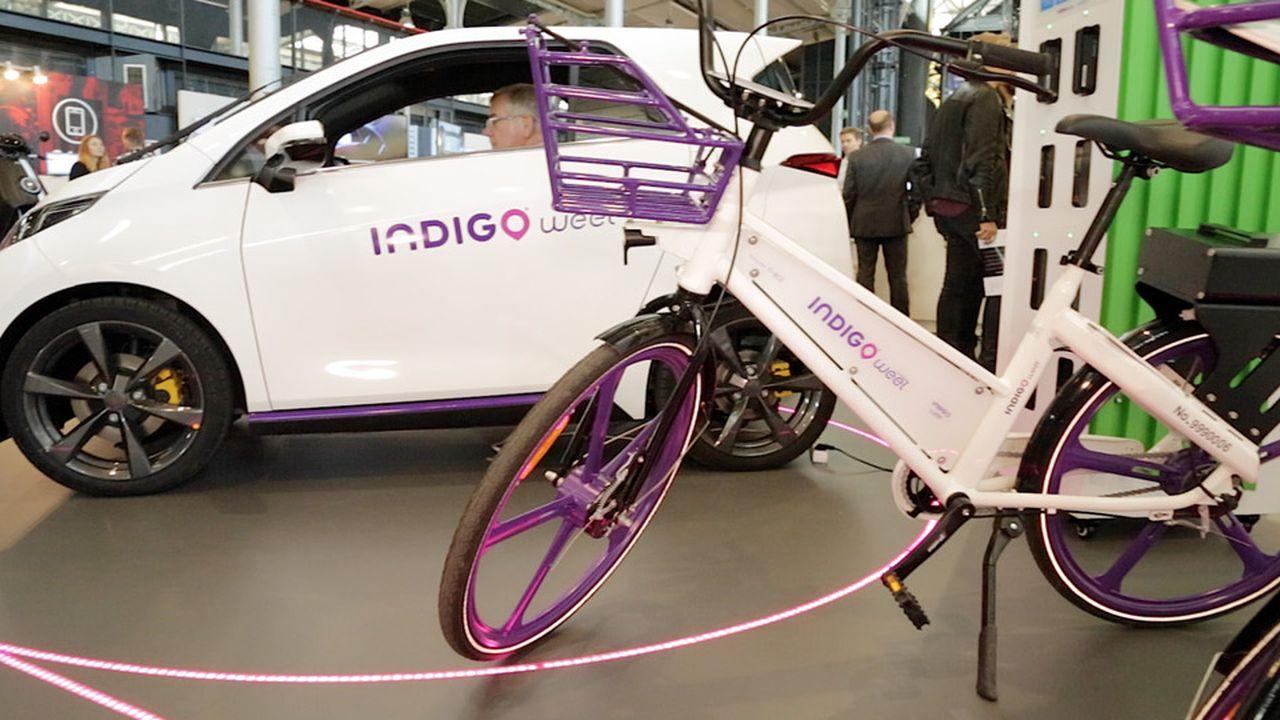 Quand le spécialiste du stationnement Indigo mise sur le vélo en libre-service