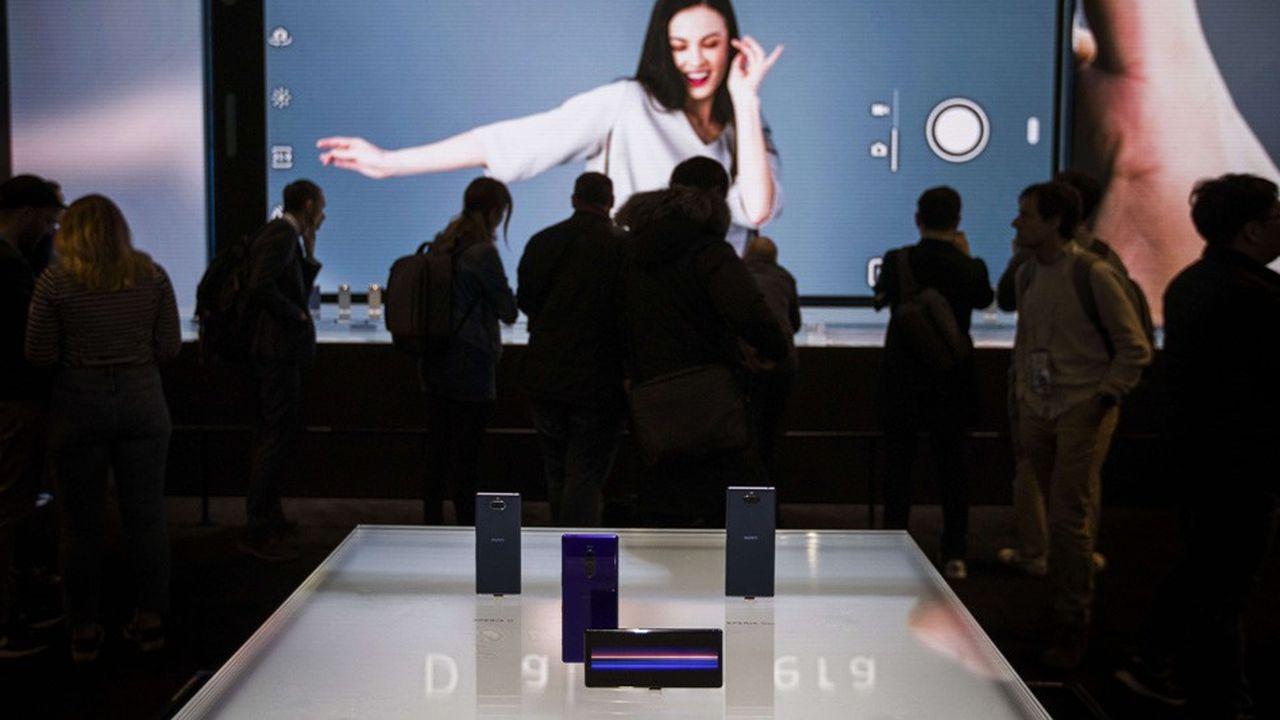 Les nouveaux Xperia de Sony, présenté à Barcelone ce lundi.