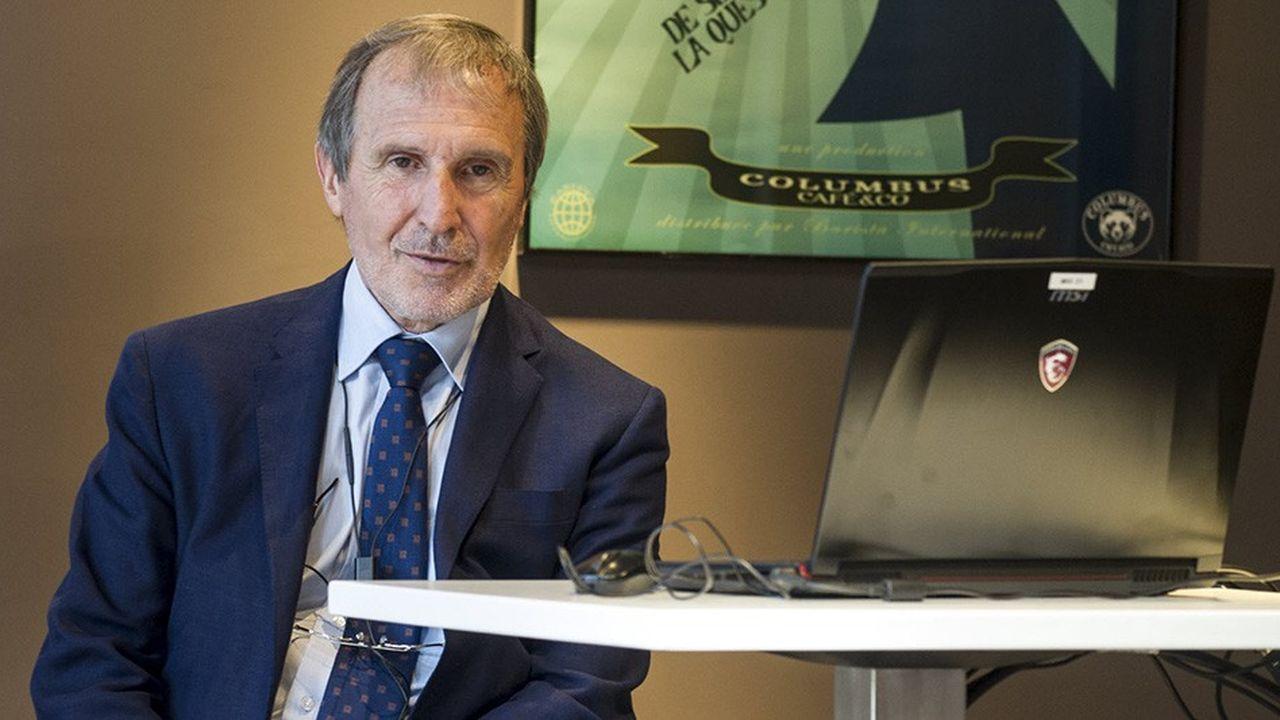 Alain Taravella, président fondateur d'Altarea Cogedim, vante la pluralité des champs d'intervention de sa foncière.