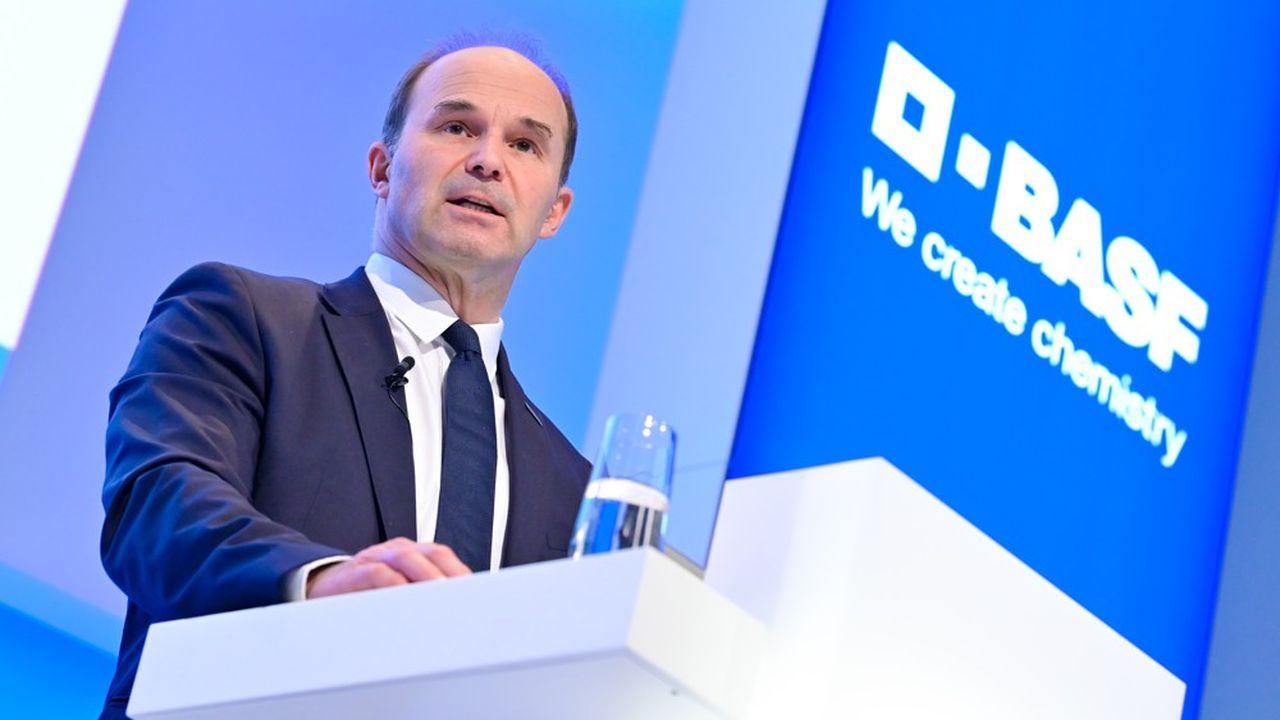 Martin Brudermüller dirige depuis mai2018 le groupe allemand actif dans la pétrochimie, l'agrochimie ou encore les plastiques.