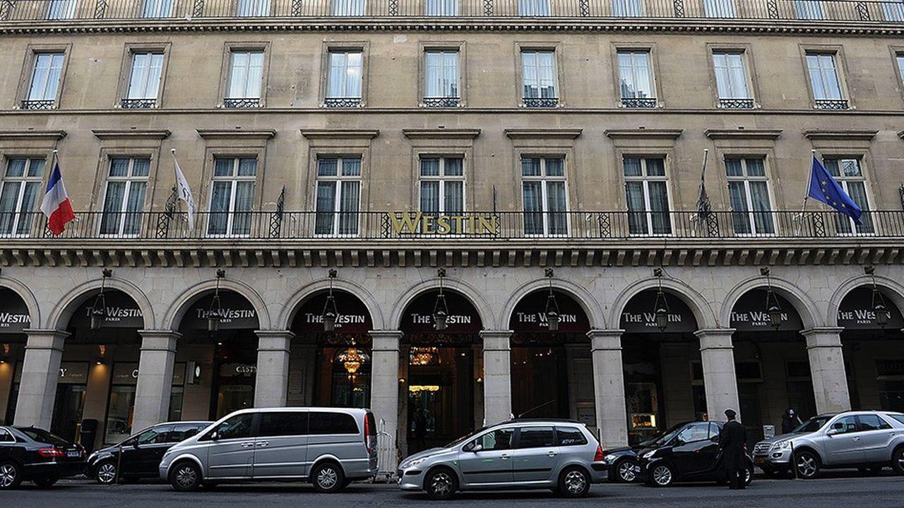 La vente de l'hôtel Westin, situé rue de Castiglione à Paris, a pesé lourd dans le volume de transactions hôtelières en France l'an dernier. La transaction a dépassé les 500millions d'euros pour un volume d'investissements total de 1,8milliard.